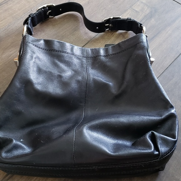 Coach Handbags - Black Coach Tote